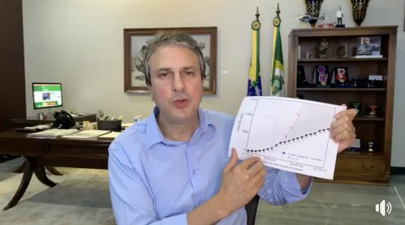 Governador do Ceará diz que isolamento está achatando curva no estado
