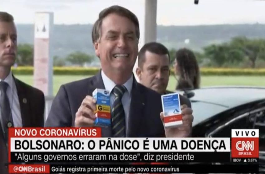 Jair de Souza: O problema não é a cloroquina, é Bolsonaro