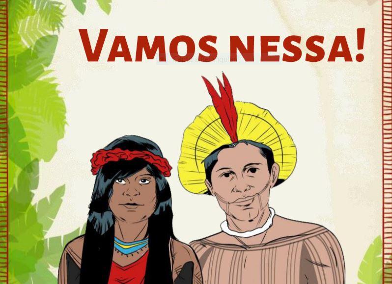 Cartilha da Universidade Federal do Pará sobre coronavírus para indígenas : De parente para parente; íntegra
