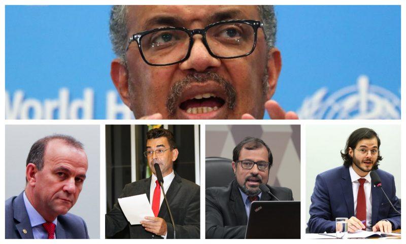 """Deputados denunciam Bolsonaro a OMS, ONU e OEA: """"Flerta com genocídio"""""""