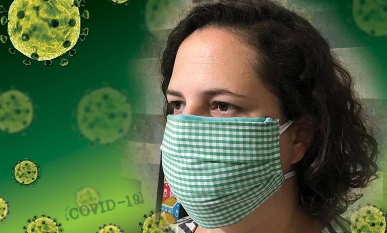 Pesquisadores da Federal de Santa Catarina ensinam a fazer máscaras caseiras