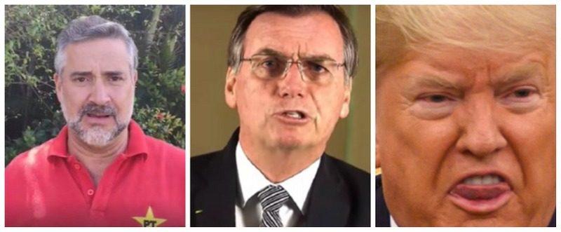 Pimenta denuncia atrocidades de Bolsonaro contra diplomatas venezuelanos: Têm famílias com crianças e não há voos! Só interessa aos EUA!; vídeo