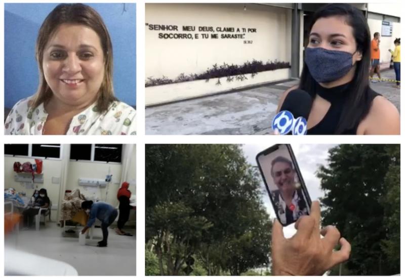 Entidade de funerárias providencia 3.880 caixões para Manaus, onde Bolsonaro incentivou fim do isolamento virtualmente