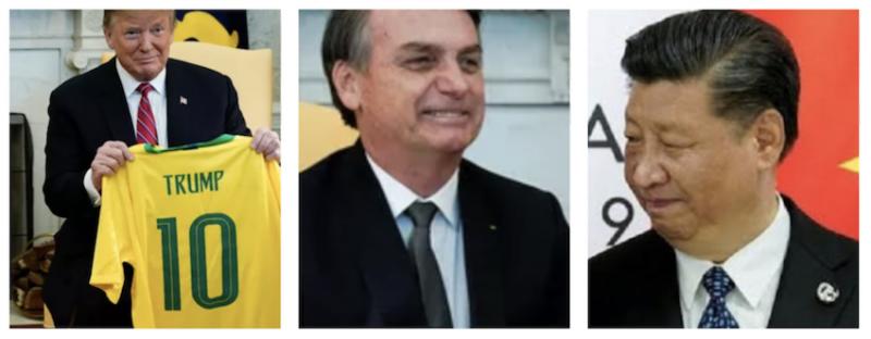 """Para salvar mandato, Trump engaja em """"surrar a China"""", com consequências dramáticas para o Brasil"""