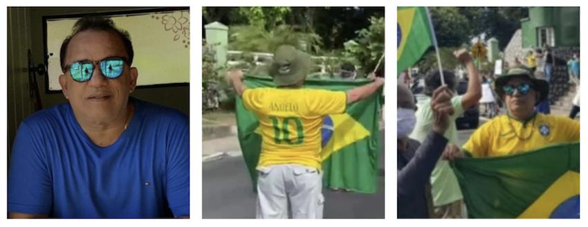 Doutor Angelo foi às ruas sem máscara defender Bolsonaro; entrou para a estatística da pandemia