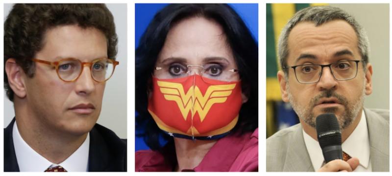 Parlamentares movem ações contra Damares, Salles, Weintraub e Heleno; íntegra