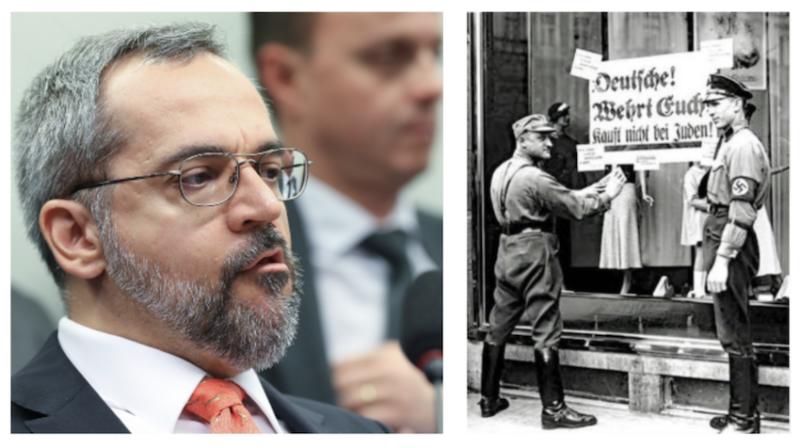 Coletivo Judaico de Esquerda: a repugnante mensagem de Abraham Weintraub