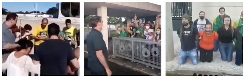 Com clã na defensiva, apoiadores de Bolsonaro entram em transe nas redes; vídeos