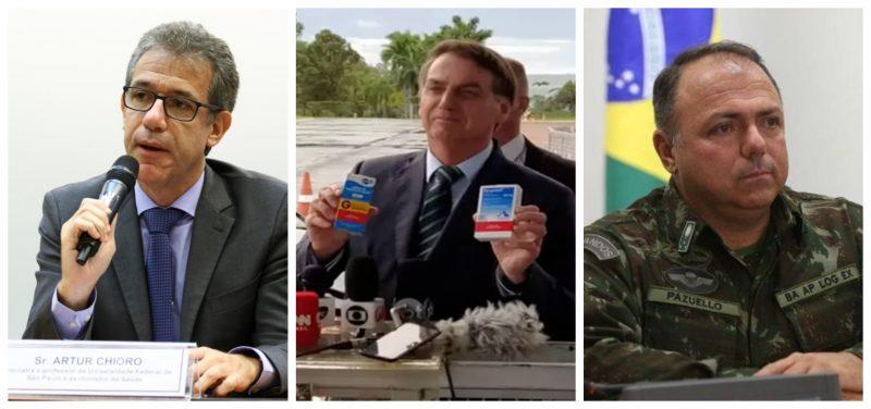 Chioro rejeita imposição de cloroquina para todos com covid-19: 'Atitude irresponsável e criminosa contra a sociedade brasileira'