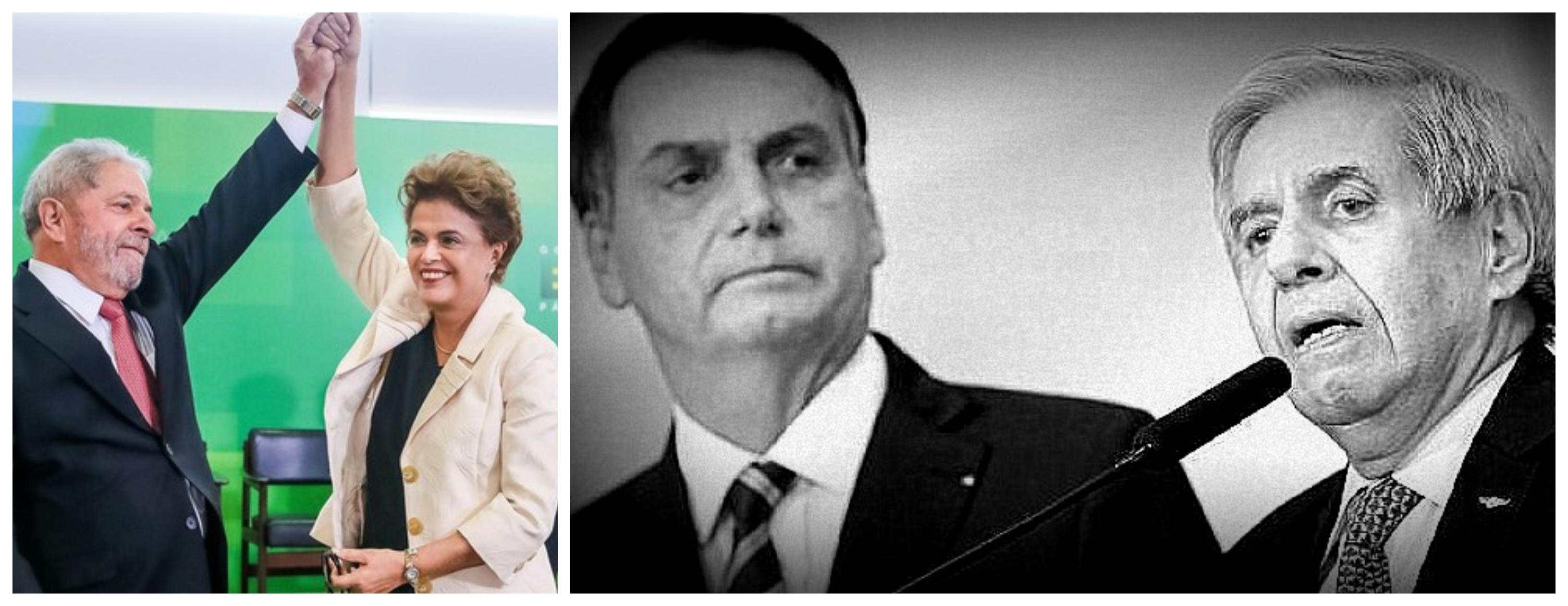 Hugo Melo: Golpista festejou divulgação de grampo ilegal de Dilma e Lula, agora ameaça democracia por celular de Bolsonaro