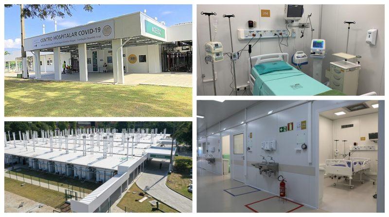 Começa a funcionar  o hospital da Fiocruz dedicado exclusivamente à covid-19