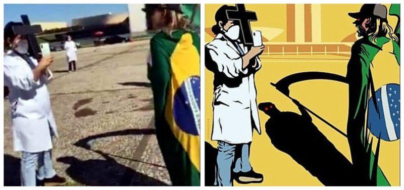Helenice Rocha: Bolsonaro e defensores gozam com corpos enterrados em valas comuns, nus, sem nomes