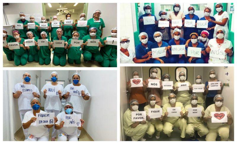 Quem cuida da saúde dos profissionais que salvam vidas de pessoas infectadas pela covid-19? vídeo