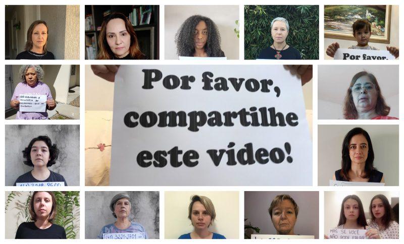 Mulheres de Curitiba fazem vídeo para facilitar denúncia de violência doméstica no isolamento: Silêncio salva vidas