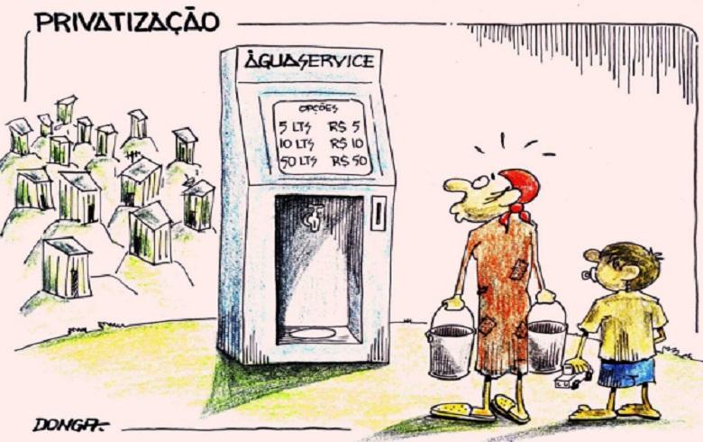 Dr. Rosinha: Com água privatizada, pobres morrerão de sede com as empresas ajoelhadas sobre seus pescoços