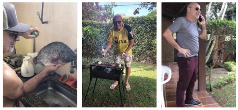 Bolsonaro justificou Queiroz em Atibaia por questões de saúde, mas operador fazia churrasco e bebia cerveja no esconderijo; íntegra