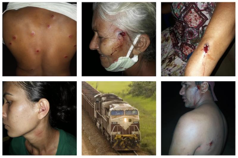 Acampados denunciam violência de seguranças da mineradora Vale no Pará