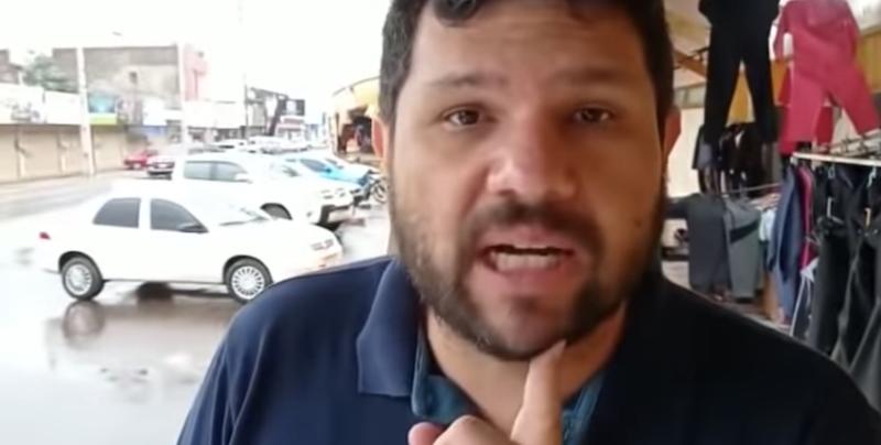 Blogueiro bolsonarista preso disse que covid não matou no Paraguai por causa do comércio aberto; vídeo