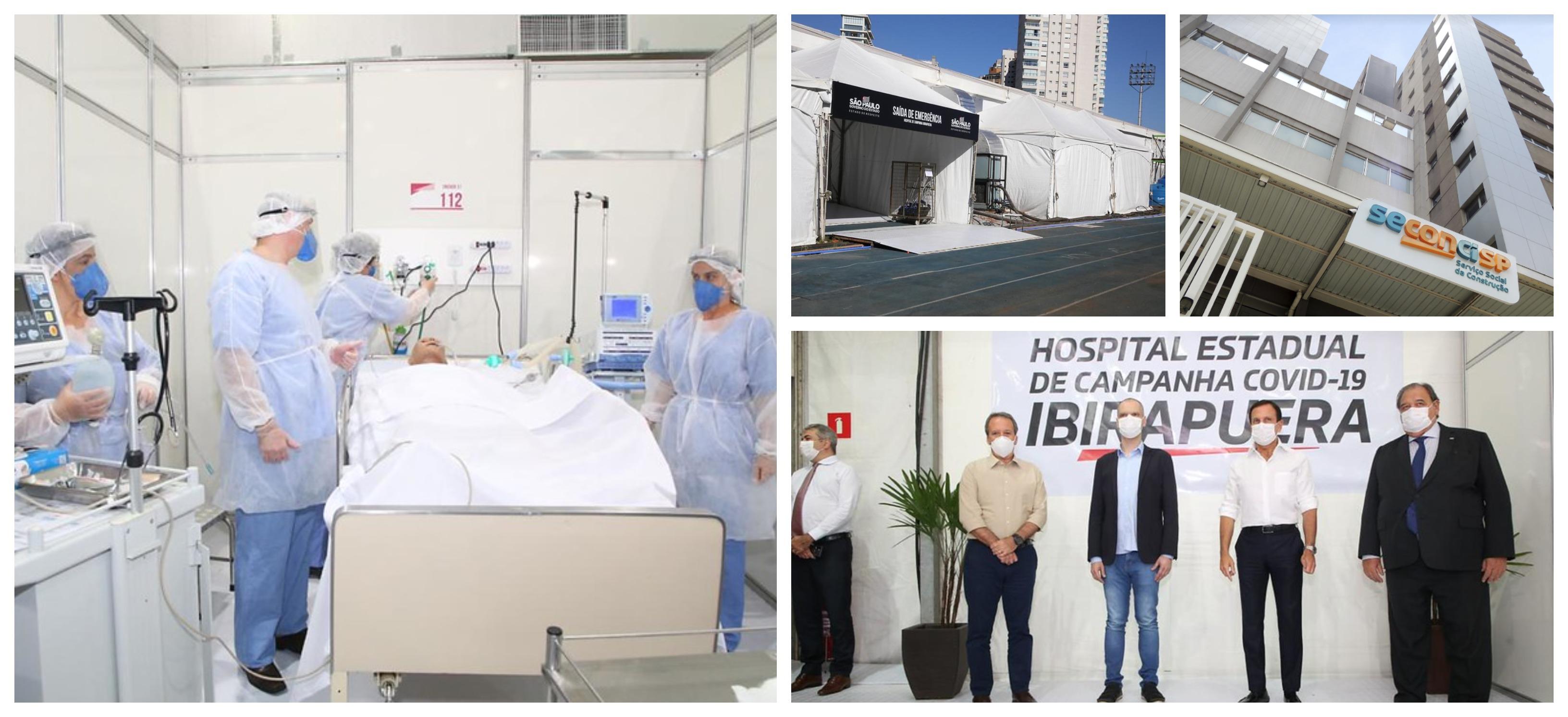 Enfermeira do Samu com covid relata horror da internação em hospital de campanha em SP