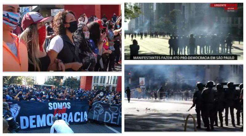 Hugo Melo Filho e Anjuli Tostes: Governadores têm o dever de garantir o direito à marcha antifascista no domingo