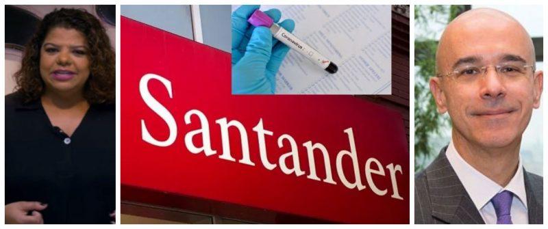 Ivone Silva denuncia demissões no Santander durante pandemia:  Ao colocar bancários em risco, prejudica a população
