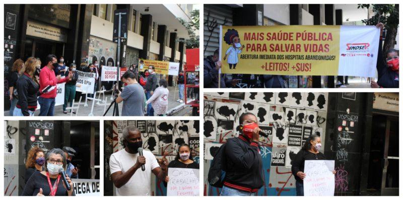 Trabalhadores da saúde denunciam descaso de Covas: Não aguentamos mais enterrar nossos colegas; manifesto