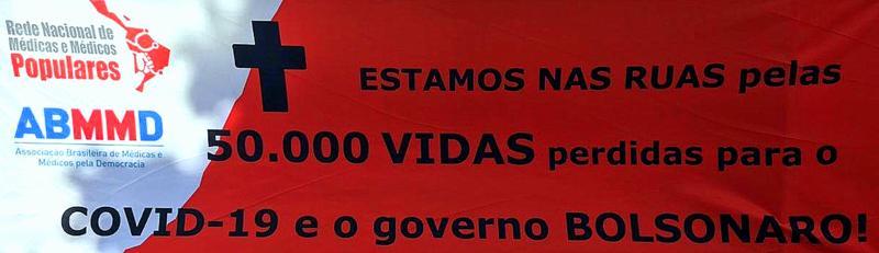 Brasil, o 1º no mundo em mortes de médicos e enfermeiros por covid