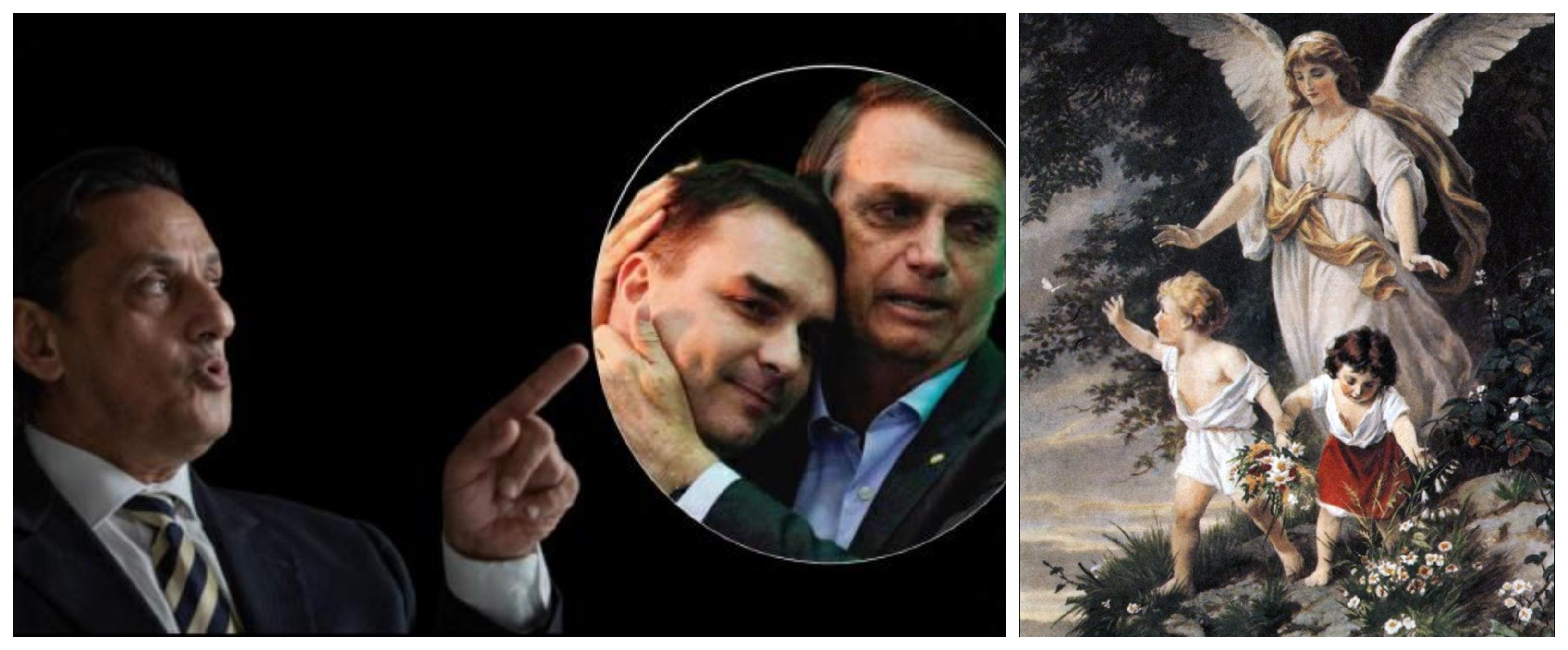 Dr. Rosinha, sobre anjos e Anjo: O dos Bolsonaro não tem asas, mas se falar, o céu desaba