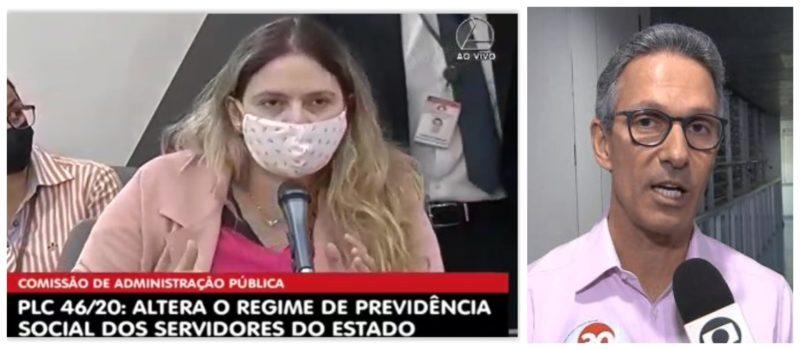 Beatriz Cerqueira a Zema: Por que massacrar os servidores, se sua reforma da previdência não equilibra as contas do Estado?; vídeo