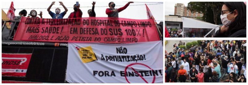 Juliana Cardoso: Sem licitação, gestão Covas terceiriza Hospital Campo Limpo para o Albert Einstein
