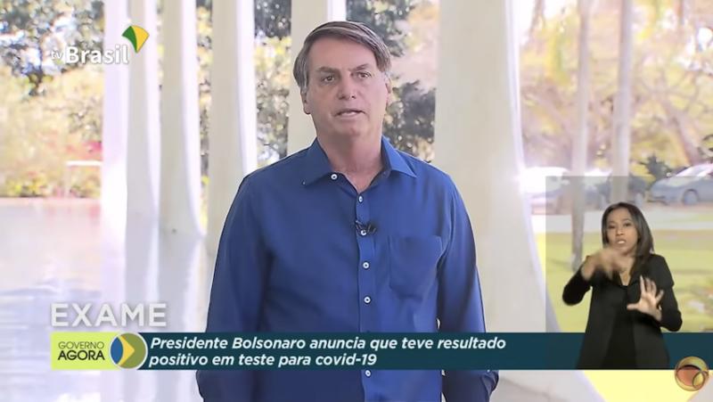 """Bolsonaro doente, sem máscara, adota a imunização do rebanho, """"devoradora de vidas"""""""