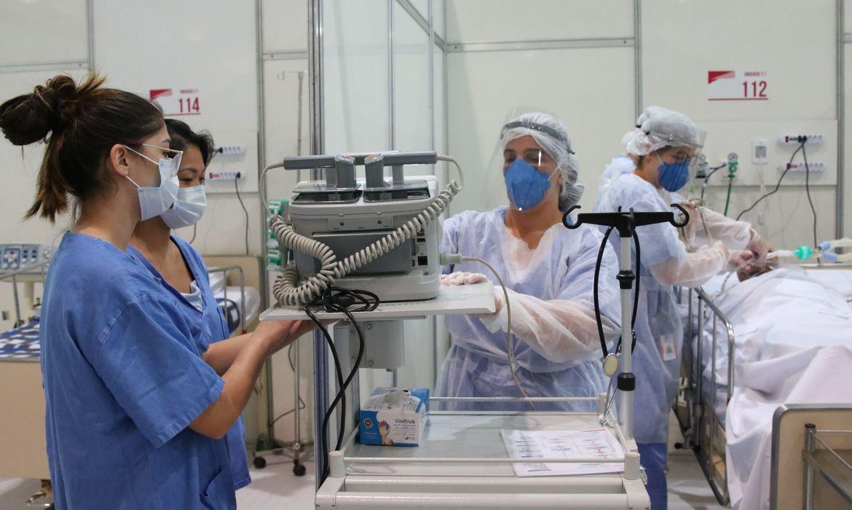 Sindicato pede a trabalhadores da saúde em SP que informem sobre internações por covid
