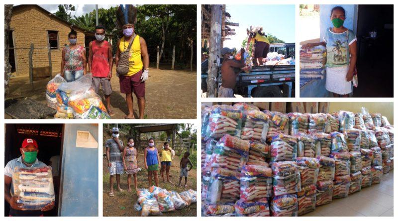 Cimi contra covid: Solidariedade garante alimentos e máscaras a 40 mil indígenas de Minas Gerais, Espírito Santo e Bahia; fotos