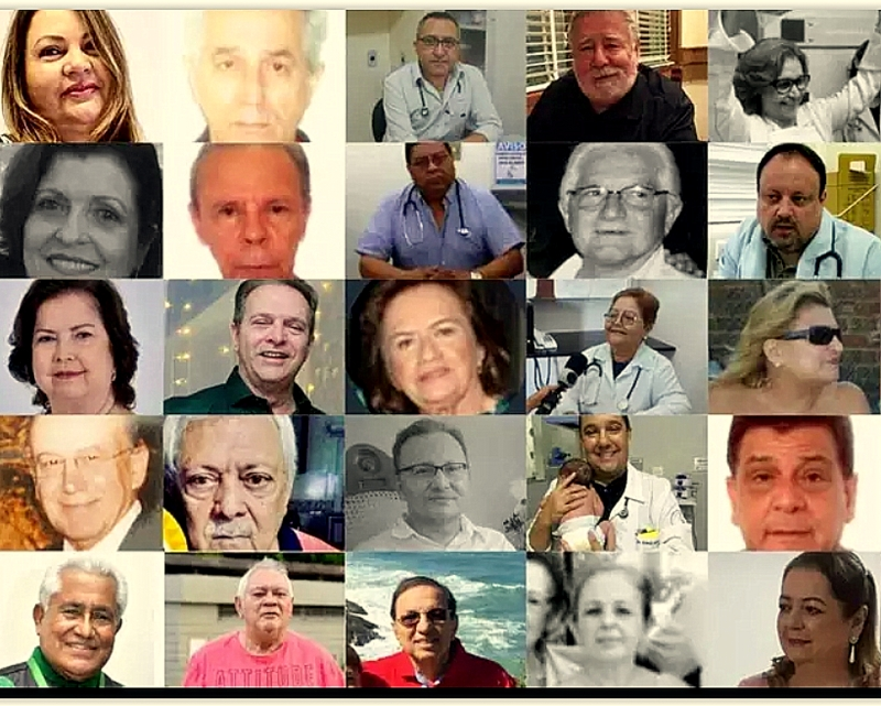 """Sociedade Brasileira de Pediatria chora morte de 25 colegas pela covid e cobra dos governos """"cuidar de todos que labutam em favor da vida"""""""