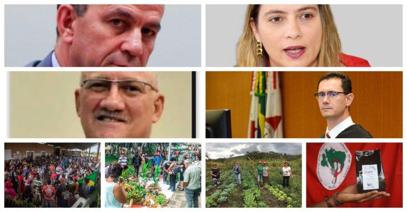 Deputados tentam reverter reintegração de posse do Acampamento Quilombo, do MST, que abriga 450 famílias no sul de Minas Gerais; vídeo