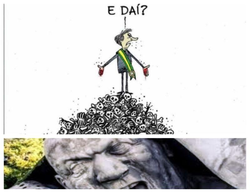 Dr. Rosinha: As 100 mil vítimas do covid, a 'estátua' do genocídio praticado pelo governo Bolsonaro