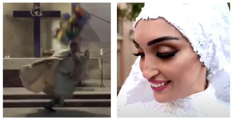 Noiva, padre e jornalista pegos de surpresa pela explosão em Beirute; vídeos