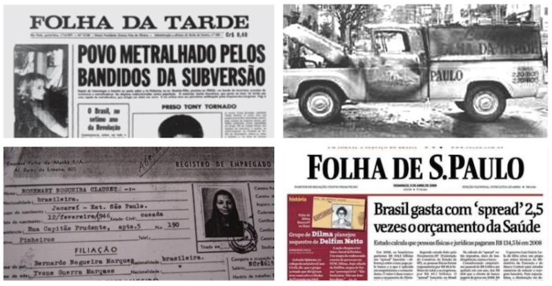 Apoiadora de golpes e beneficiária da ditadura, Folha compara Dilma a Bolsonaro e toma o troco