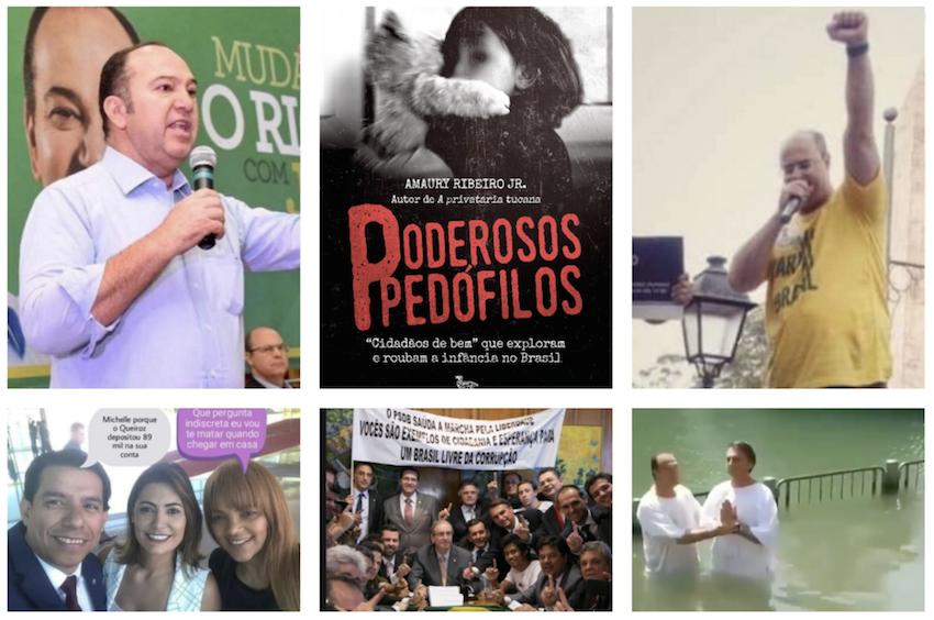 """Desmascarando """"cidadãos de bem"""", Amaury Ribeiro Jr. expõe pedófilos bolsonaristas e outros moralistas sem moral"""
