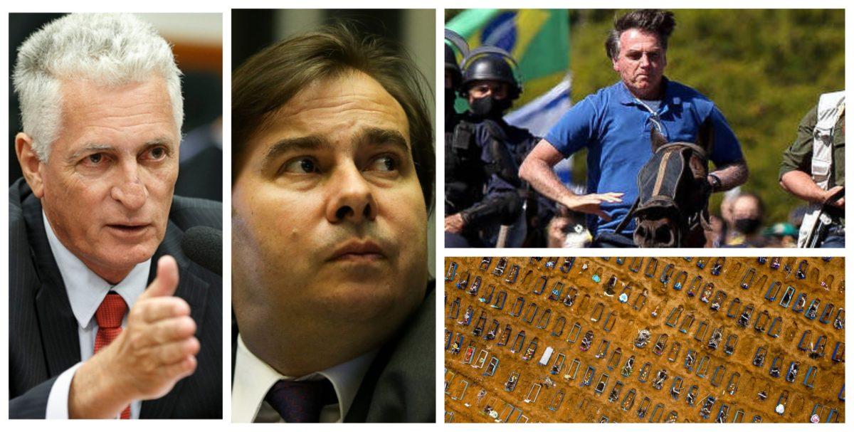 Rogério Correia: Põe o impeachment na pauta, Rodrigo Maia! Além de genocídio do povo, pelas ameaças de fechar o STF!; vídeo