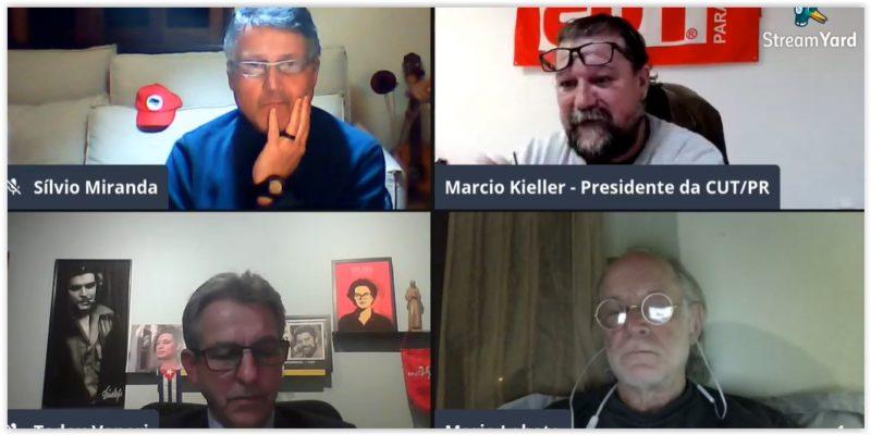 Ao vivo, Veneri, Miranda, Kieller e Lobato debatem o SUS e a pandemia