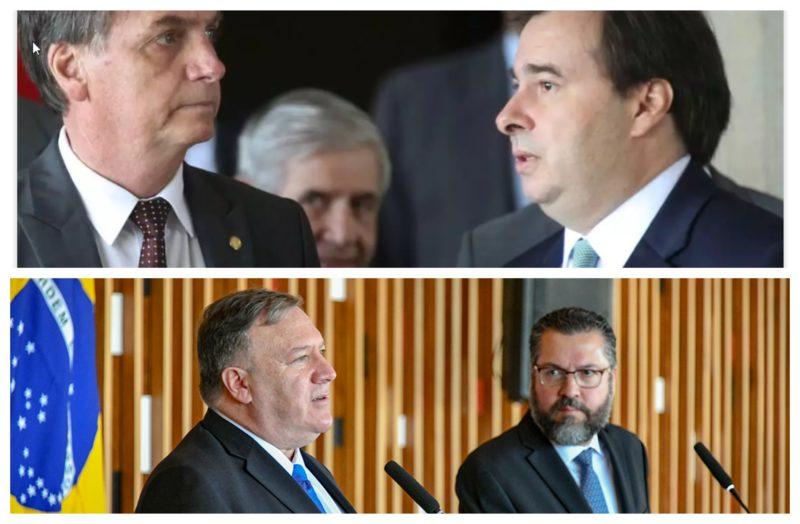 Pimenta: Ao submeter Brasil à condição de ventríloquo de gângster, Bolsonaro viola soberania nacional. Até quando, Maia?