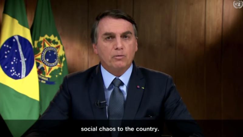 """Gleisi diz que Bolsonaro é """"mentiroso patológico"""" depois de discurso na ONU"""