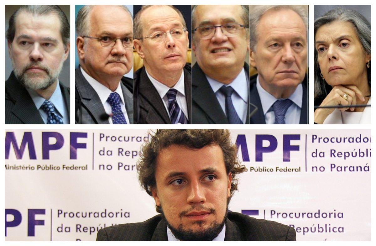 Vídeo mostra pedido de desculpas do procurador Diogo Castor aos ministros do STF por acusações;  confira