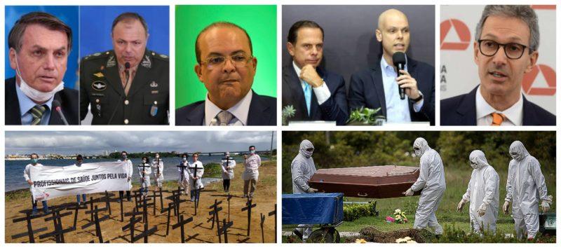 Professor Heleno Corrêa: Gestores querem tudo aberto na economia, inclusive novas covas nos cemitérios