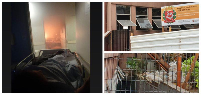 Juliana Cardoso: Incêndio no Hospital Tide Setúbal é o símbolo do descaso da gestão Covas com a saúde pública na cidade de São Paulo