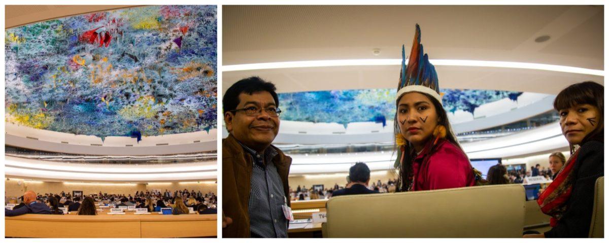 """Na ONU, indígenas denunciam violências e violações no Brasil: """"Somos ameaçados abertamente pelo presidente""""; vídeos"""