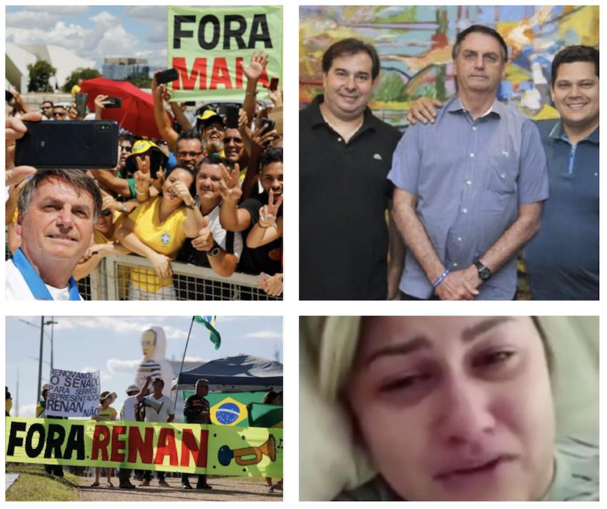 Renan Calheiros elogia Bolsonaro e bolsonaristas-raiz entram de novo em curto circuito; vídeo