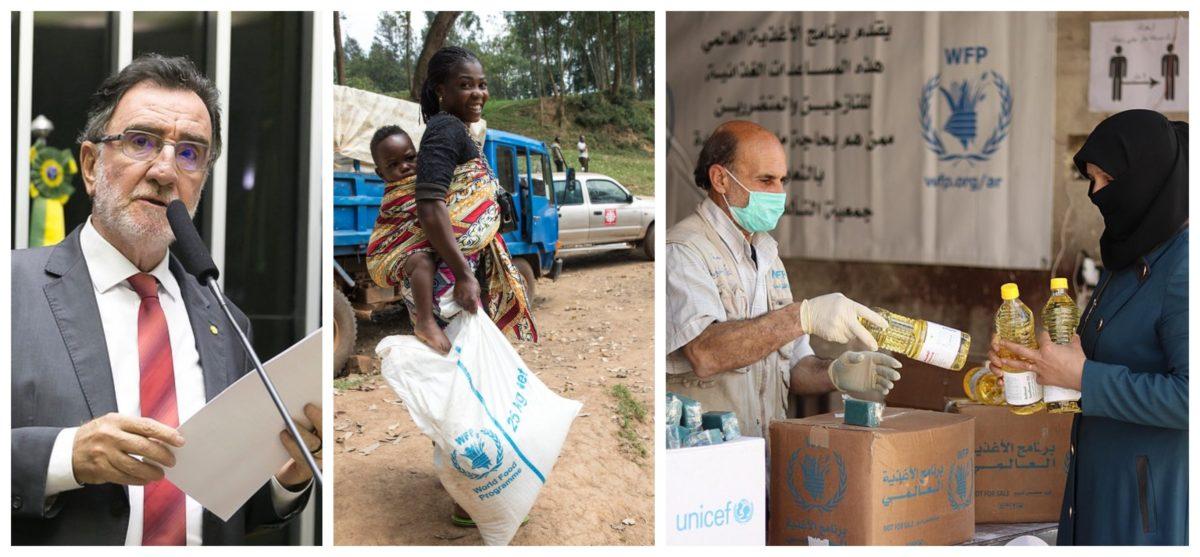 Patrus: Nobel da Paz a Programa de Alimentos da ONU mostra urgência de a alimentação ser prioridade; vídeo