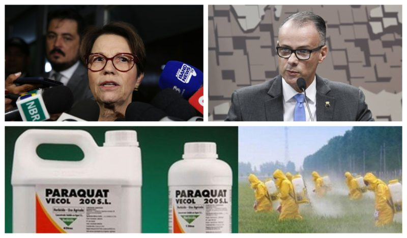 Deputados vão à Justiça contra presidente da Anvisa e ministra da Agricultura por desova dos estoques do agrotóxico Paraquat